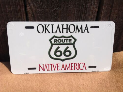 Route 66 Oklahoma Native America Wholesale Novelty License Plate Bar Wall Decor