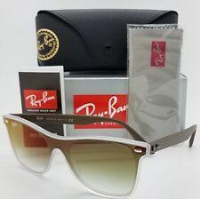 0bafa0374 NEW Rayban Sunglasses Blaze Wayfarer RB4440N 6358W0 Transparent Green  AUTHENTIC