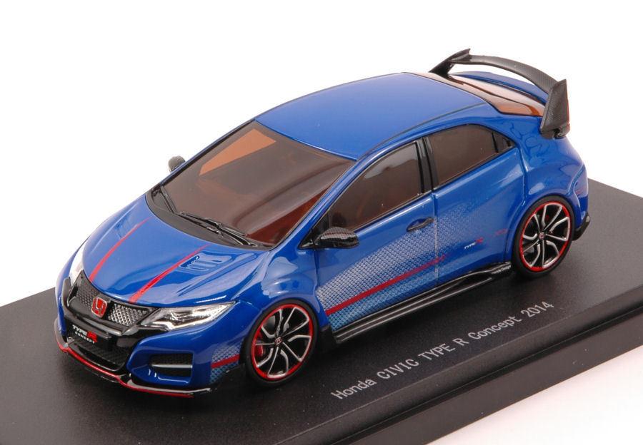 Honda Civic Type R Concept 2014 bleu 1 43 Model 45235 EBBRO