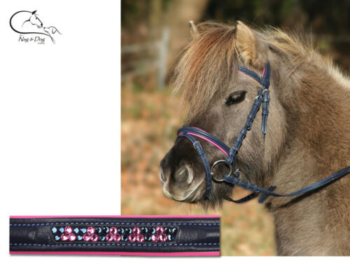 "Waldhausen /""Unicorn/"" Pony Mini Shetland Synthetic Bridle With Reins FREE P/&P"
