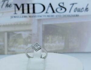 18-carat-white-diamonds-princess-cut-cluster-ring
