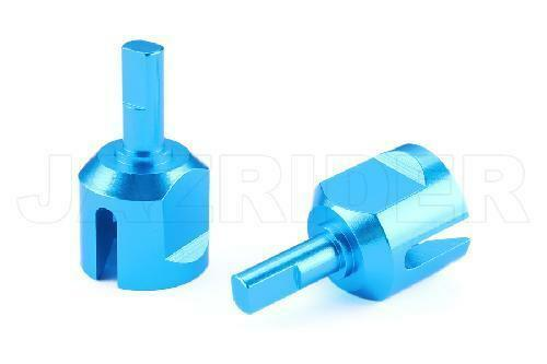 Jazrider Aluminum Front Rear Gear Box Joint Set For Tamiya TT01/TT01E/TT02 NIP
