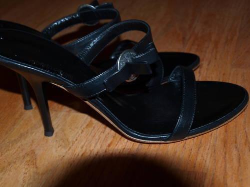 Roberto Cavalli BLACK High Heels Sandales BLACK Cavalli ( Größe 39-8.5) ed057c