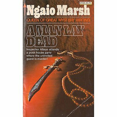 A MAN LAY DEAD Ngaio Marsh PB 1976 Roderick Alleyn M2