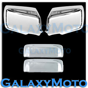 06-11-FORD-RANGER-Triple-Chrome-Plated-Mirror-2-Door-Handle-Cover-Combo-Kit