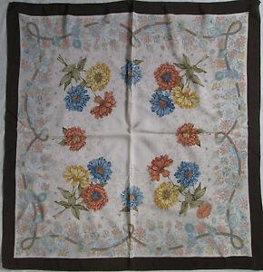 Superbe Foulard GUCCI 100% soie TBEG vintage scarf 70 s   eBay 2b8cb7567e5