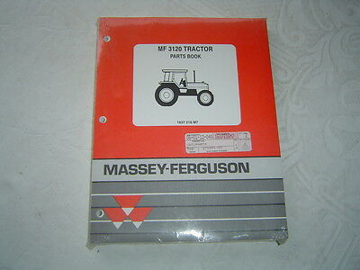 Massey Ferguson 3120 Tractor Original Dealer/'s Parts Book