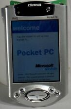 Compaq iPaq H3950 TFT Color LCD Pocket PC PDA 64mb touchscreen microphone H-3950