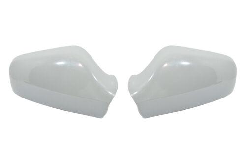 2 x Carcasa De Espejo Retrovisor Gris para OPEL ASTRA G Derecho /& Izquierdo P02