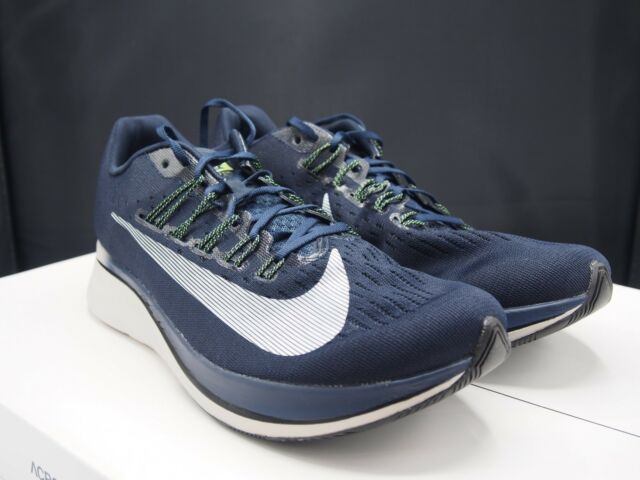 Nike Zoom Fly Mens Running Shoes 11 Obsidian Neutral Indigo 880848 405