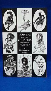 Details about LIBRO book POWER OF THE ORISHAS in english religion yoruba ifa