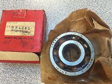 Honda NOS crankshaft rear wheel transmission bearing CA 72 77 100 105 110 CR80 +