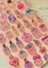 Perfume 3D Gel chispas Pegatinas francés Fragancia Femenina Scrapbook Cardmaking Hazlo tú mismo