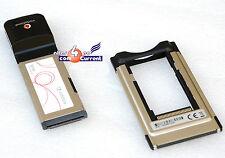 ADAPTER ADAPTOR 54 mm PCMCIA CARDBUS TYPE II AUF 34 mm EXPRESS CARD MINI PCMCIA