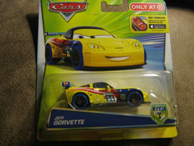 SEALED Jeff Gorvette Car Lot Disney Pixar Mattel Cars Movie Luigi /& Guido