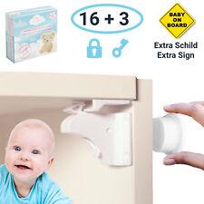 Magnetische Kindersicherung Schrank und Schublade - 16 x Schranksicherung