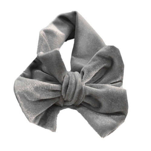 Big Bow Bowknot Velvet Hairband Headband Turban Headwrap for Baby Kids Girls