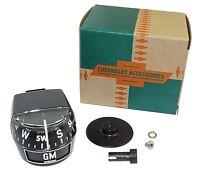 Gm-accessory-compass 1960's 1970's Cars & Trucks Chevrolet Gmc Olds Pontiac