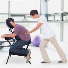 "3"" Padded Portable Massage Chair Beauty Tattoo Facial Spa Stool W/ Free Bag"
