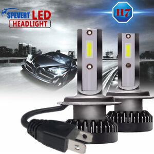 2x-110w-H7-COB-luz-LED-Mini-Coche-Faros-Kit-Conduccion-Bombillas-6000k-CANBUS