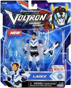 Voltron légendaire Défenseur lance Basic Action Figure Bleu Lion pilote Dreamworks