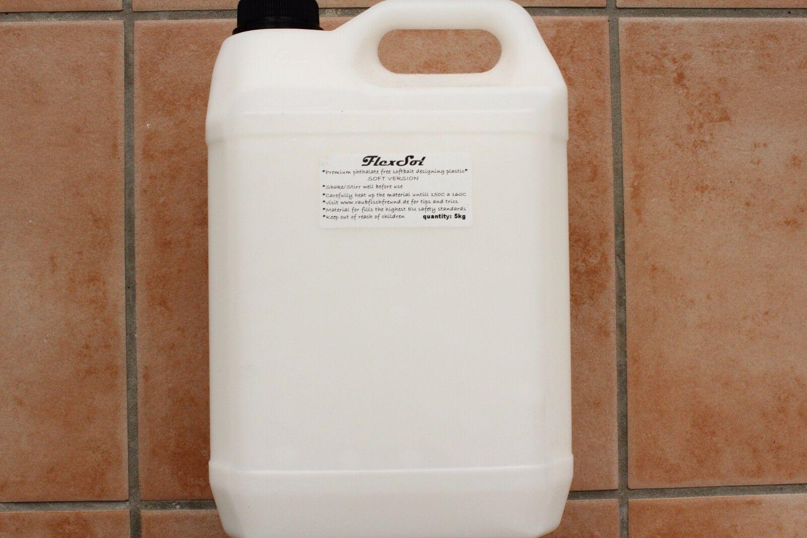 5kg 5kg 5kg flexsols Floating Soft Premium PLASTIC Plastisol plastica morbida galleggiava b4930e