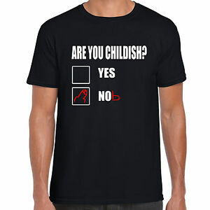grabmybits - Are you Childish Funny Adult T Shirt, Nob, Bell, End ...