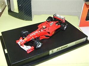 Ferrari F1 2000 M. Schumacher Avec Pub Hotwheels Légé Défaut Default