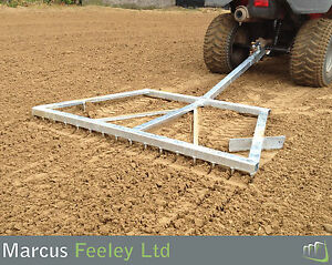 Arena-Leveller-Menage-Grader-Paddock-Sand-School-Rake-Tractor-Quad