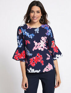 Marks-Spencer-M-amp-S-Top-Size-6-8-10-12-14-16-18-20-22-Ladies-Plus-Womens-Clothing