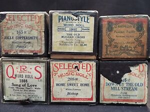 (6) Piano Rolls Down by the Old Millstream - Home Sweet Home & 4 More (#46) A54tzDT8-08141636-600665185