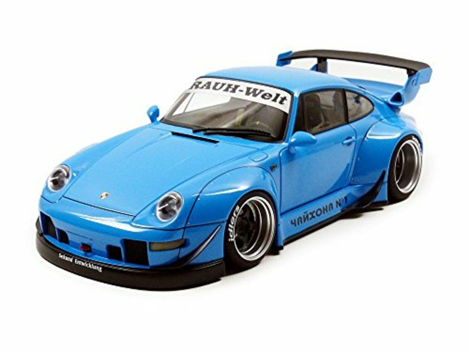 Porsche Rwb 993 azul Pistola gris Ruote 1 18 Vettura da Autoart 78152 F S