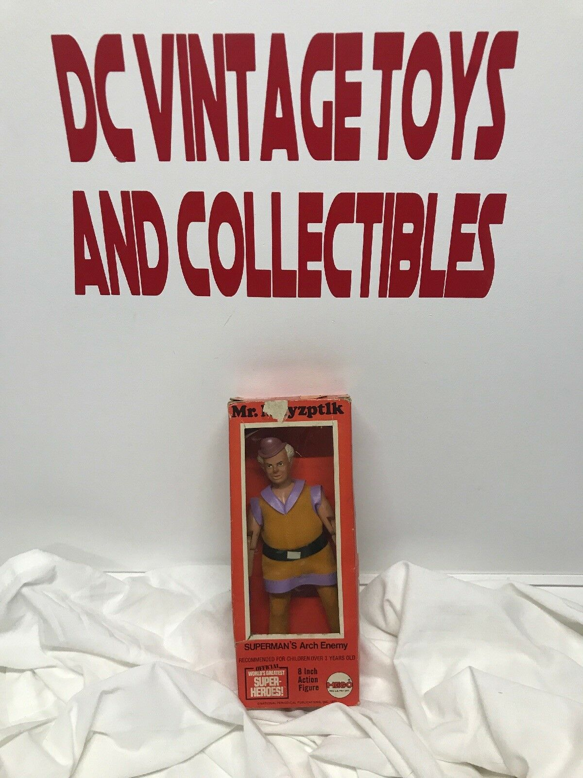 "1973 MR MXYZPTLK Action Figure by Mego VINTAGE Superman's Arch Enemy 8""TYPE 1"