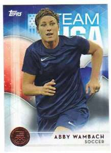 2016-Topps-US-Olympic-Team-USA-Bronze-40-Abby-Wambach-Soccer
