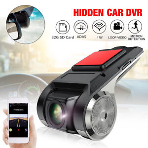 Hidden-USB-Car-DVR-Driving-Video-Recorder-Camera-HD-1080P-170-ADAS-Dash-Cam2019