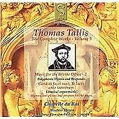 1 of 1 - Tallis: Complete Works, Vol 5 - Music for the Divine Office, 2 /Chapelle du Roi