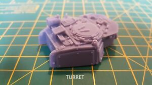 Resin-28mm-Turret-amp-Weapons-Compatible-with-40k-Leman-Russ-Tank