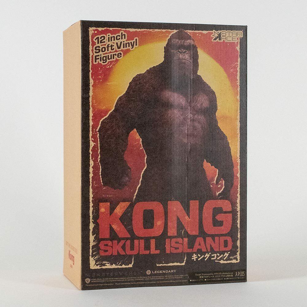King kong totenkopf - insel deluxe vinyl - statue nur 800 show star ace spielzeug.
