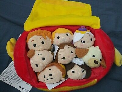 Disney Store Beauty And The Beast Tsum Tsum Footstool Bag Set New With Tags Ebay