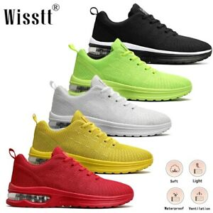 Wisstt Men's Athletic Sports Cushioned Sneakers Fitness Gym Walking Casual Shoes
