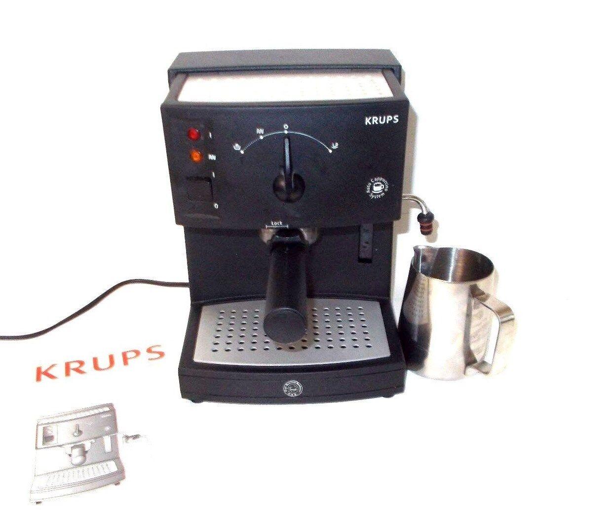 Krups 968-41 Novo 3000 Plus Espresso Cappuccino latte Maker-Système de pompe à