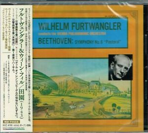 Beethoven-Symphony-No-6-039-Pastoral-039-Wilhelm-Furtwangler-VPO-CD-w-OBI-NEW-SEALED