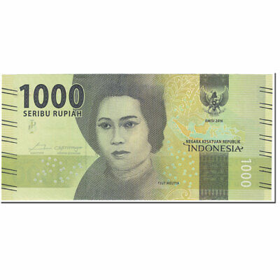 2017 Indonesia 1000 Rupiah Undated 2017 Km:154b In Many Styles Banknote #604044
