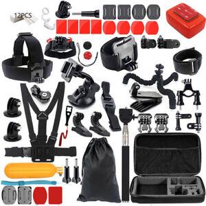 Accessories-Kit-Mount-for-Gopro-go-pro-hero-7-6-5-Session-4-SJCAM-Xiaomi-yi-H9R