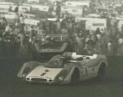 Vintage /& Rare 8X10 McLaren M8B Bruce McLaren 1969 Riverside Can Am Racing Photo