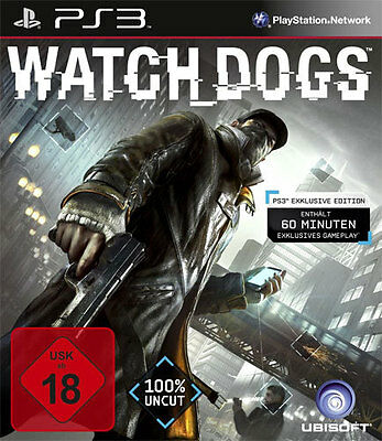 Sony PS3 Playstation 3 Spiel Watch Dogs * Watchdogs Bonus Edition ****NEU*NEW*18