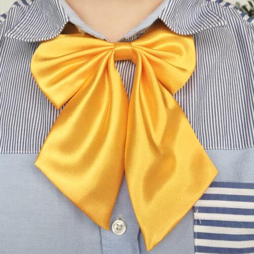 Damen Krawatte Binder Schlips Schmettling Bow Anzug Hemd Bogen Fliege Schleife