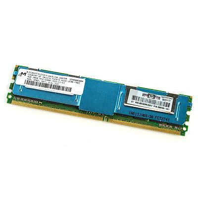 HP RAM Modul PC2-5300F 4 GB 398708-061 466436-061 DDR2 FB-DIMM ECC 2Rx4