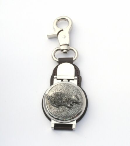 Badger Design Clip on Fob Pocket Watch Wildlife Gift 016