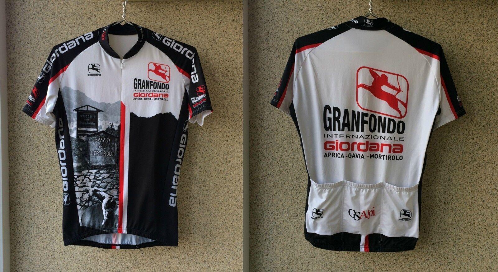 Granfondo Internazionale Giordana Cyclungo shirt M Jersey  Cycling Camiseta